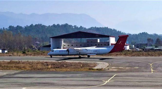 श्री एयरलायन्सको काठमाडौं–सुर्खेत परीक्षण उडान सफल