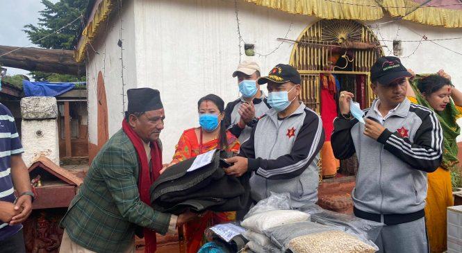 चन्दननाथ भैरबनाथ मन्दिरको शोभा बढाउदै नेपाली सेना