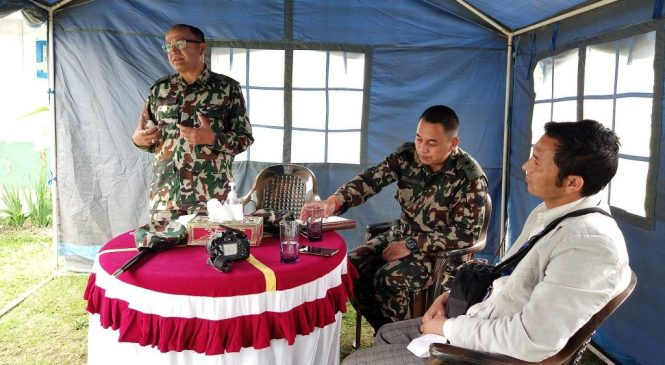 शान्ती सुरक्षासंगै पूर्वाधार विकासमा अब्बल नेपाली सेना